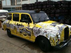London Lager cab